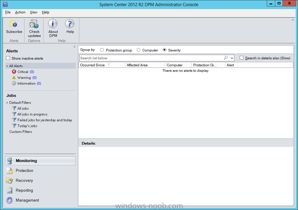 Install DPM12R2 - 13 - DPM Console.png
