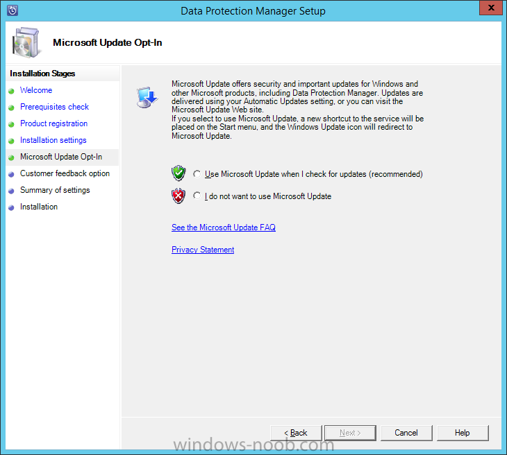 Install DPM12R2 - 09 - MS Update.png