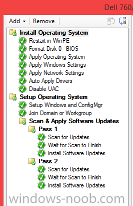 Software Updates Not Applying in Task Sequence - Configuration