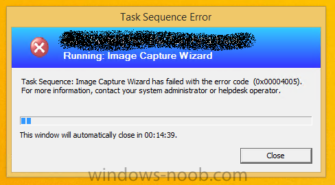 Image Capture Wizard Fails With Error Code (0x00004005