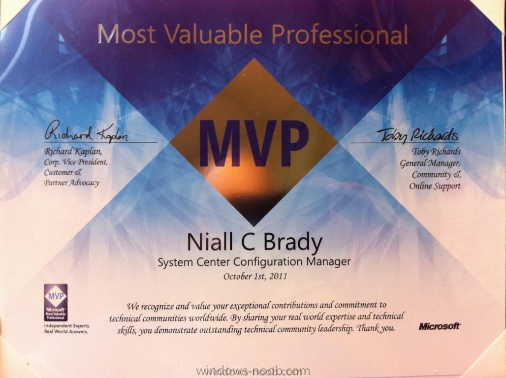 2011 MVP award.JPG