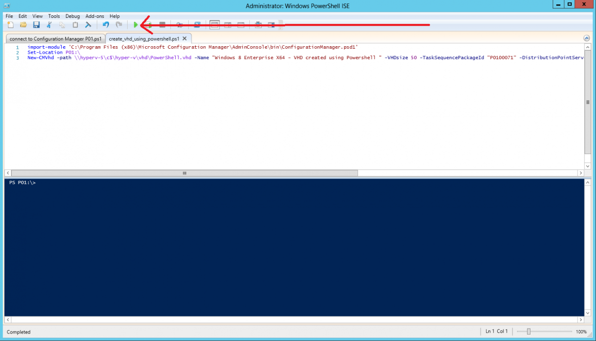 run the powershell script.png