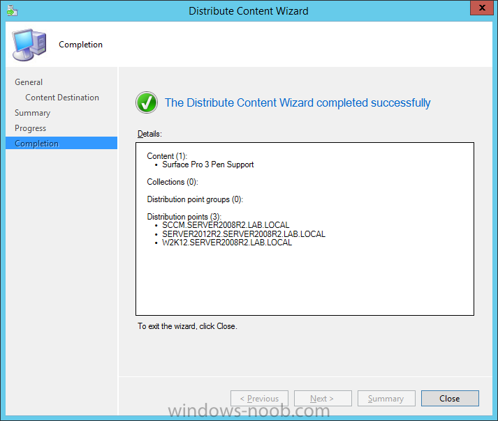 distribute content wizard complete.png