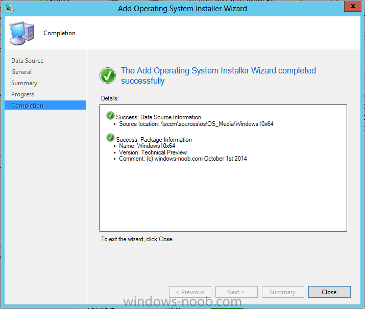 add operating system installer done.png