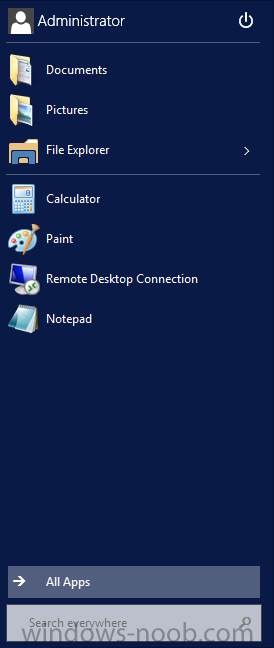 Windows Server Technical Preview - Start Menu.png