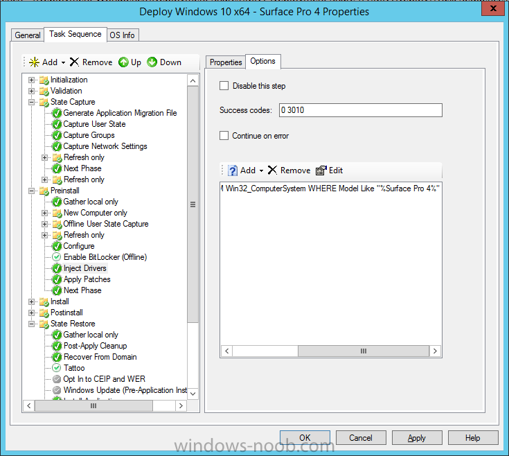 sp4 drivers in the task sequence.png