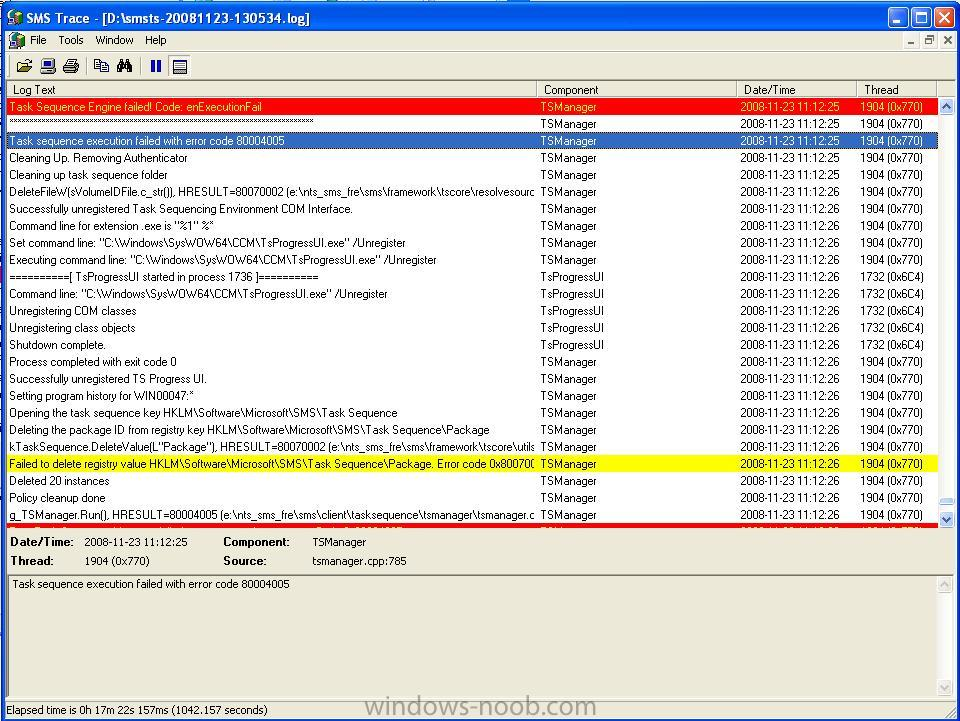 SCCM Logs - Troubleshooting, Tools, Hints and Tips - www
