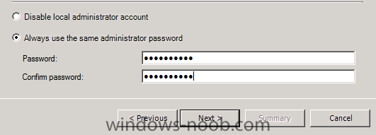 always use the same administrator password.png