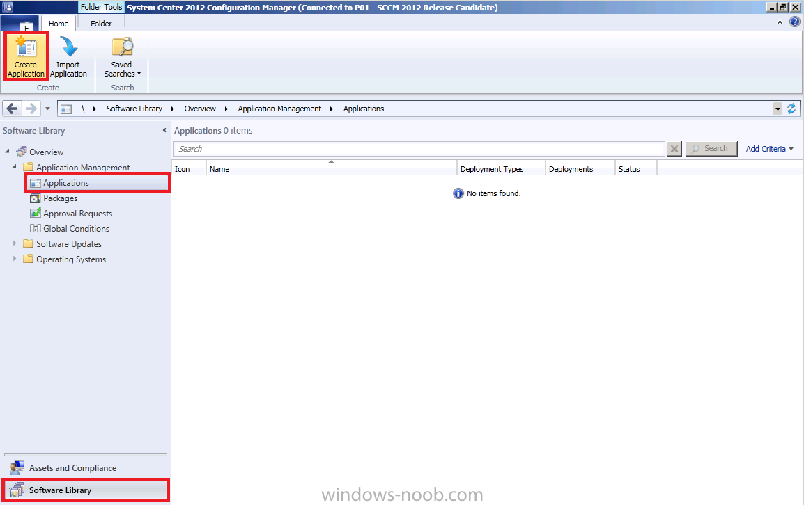 using SCCM 2012 RC in a LAB - Part 9  Adding an Application, editing
