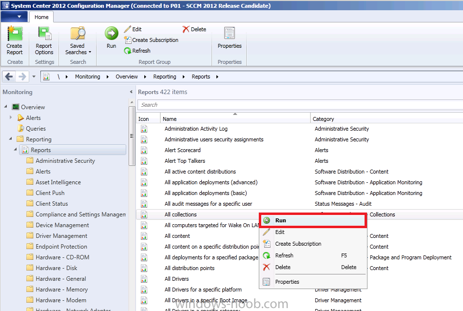 using SCCM 2012 RC in a LAB - Part 11  Adding the Reporting Services