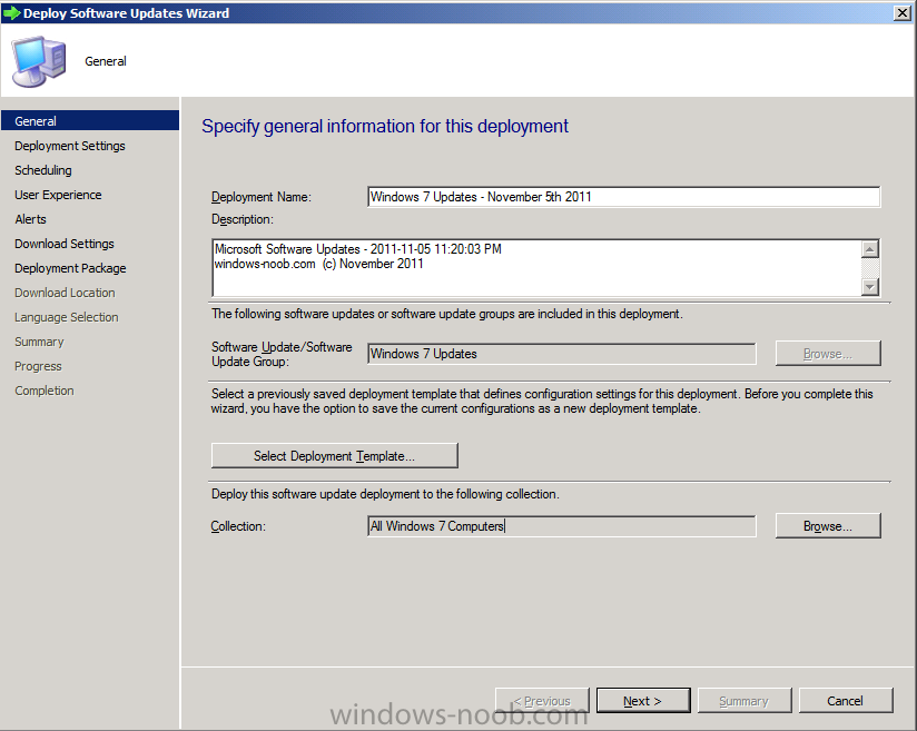 software deployment document template - using sccm 2012 rc in a lab part 6 deploying software