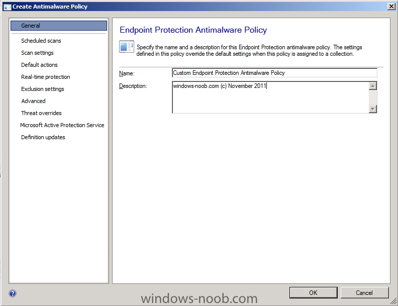 custom endpoint protection antimalware policy.png