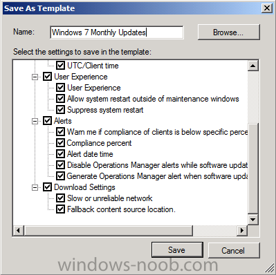 call the template Windows 7 Monthly Updates.png