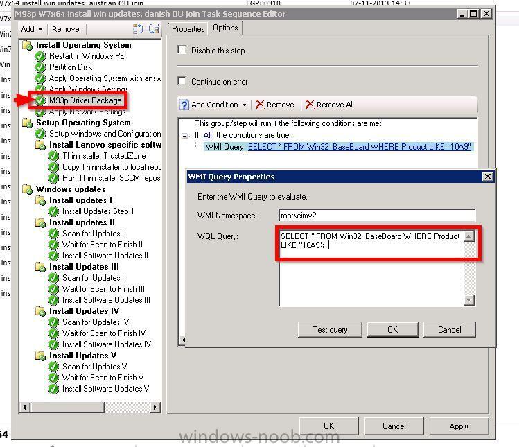 Install Lenovo drivers during OSD SCCM 2012 SP1