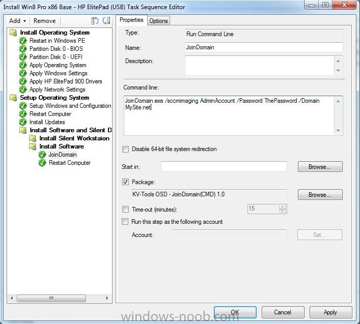 Imaging Win8 Tablets Using SCCM 2012 w/ USB (No Network