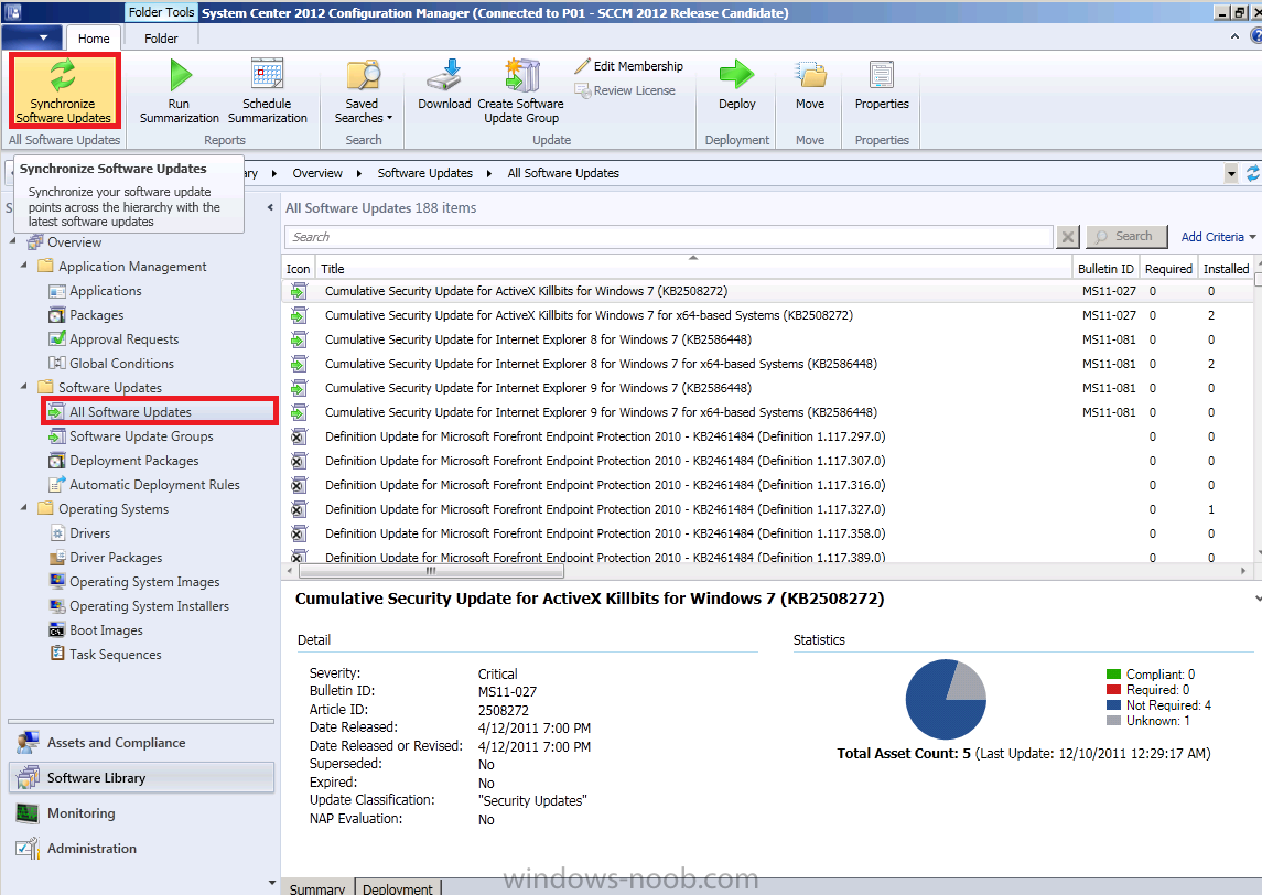 using SCCM 2012 RC in a LAB - Part 12  Updating an Operating