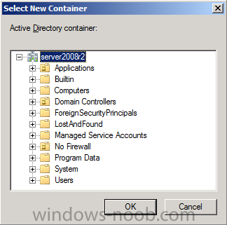 select active directory container.png