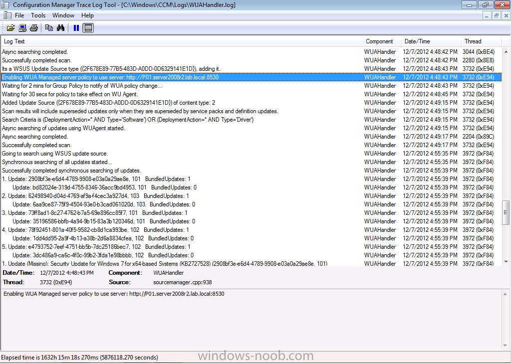 its a wsus update source type.png
