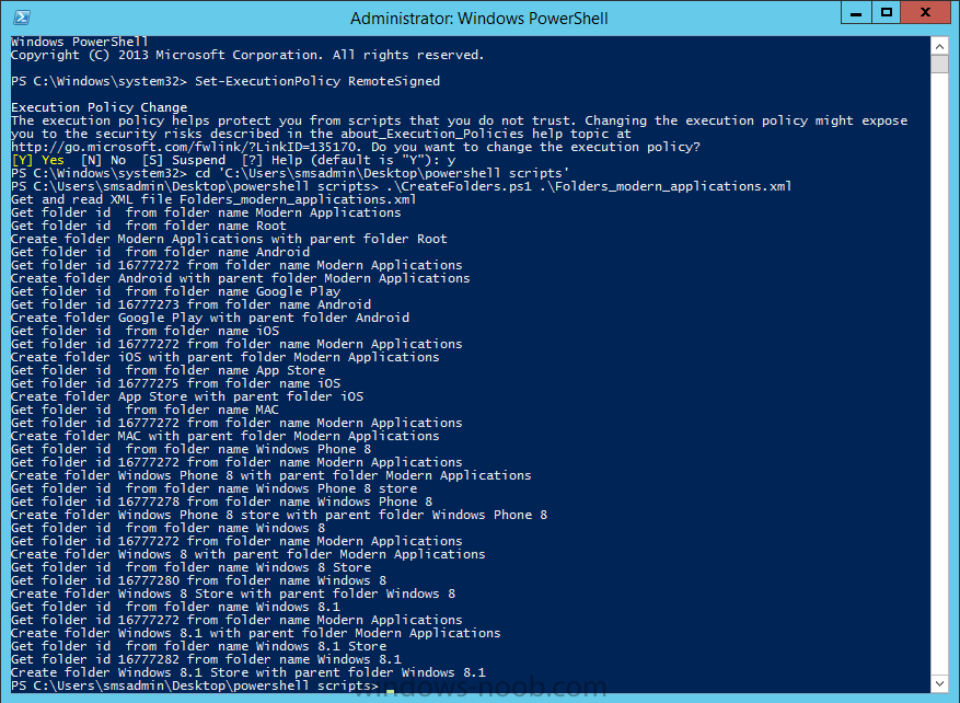 create folders using the powershell script.png