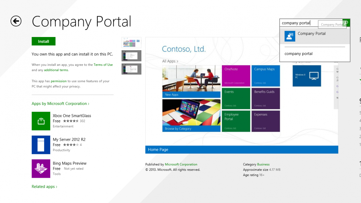search for Company Portal in the Windows Store.png