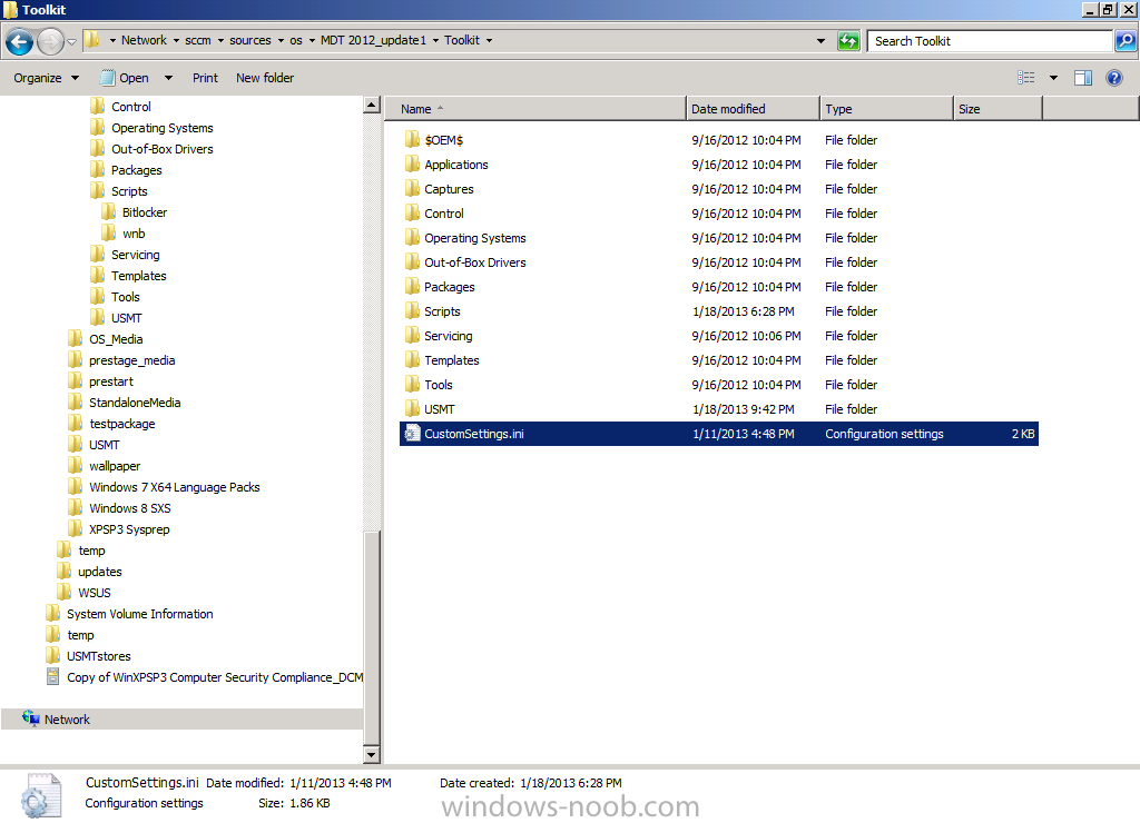 customsettings ini file in root of Toolkit Package.png