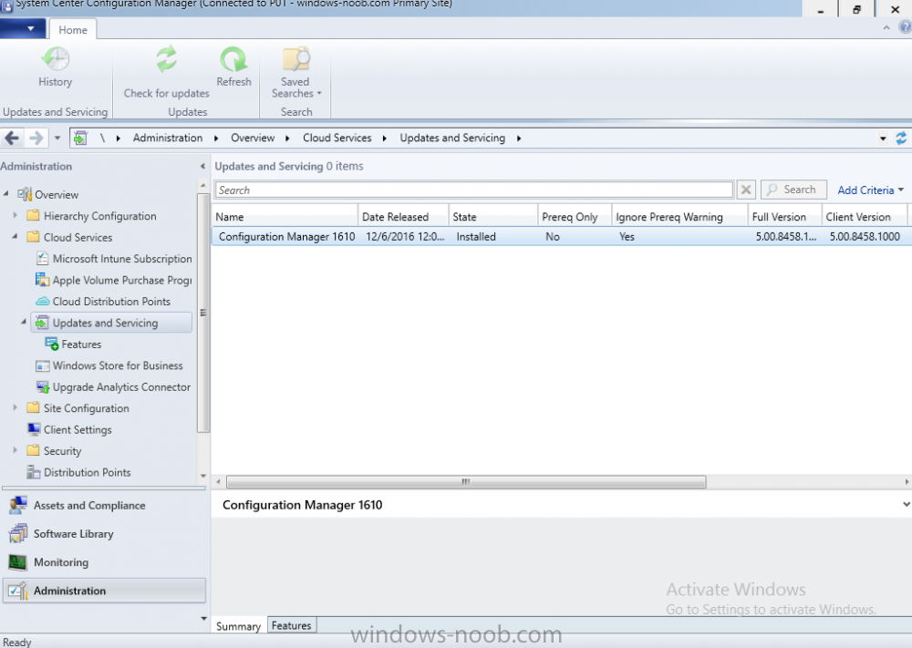 sccm 1610 ready to start.png