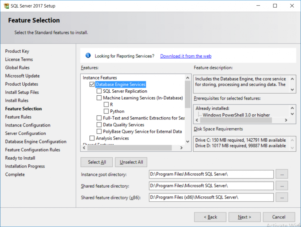 sql server installation - features.png
