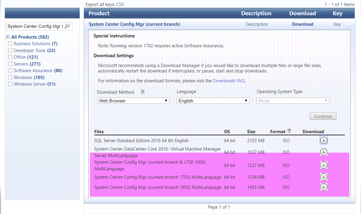 How can I install System Center Configuration Manager (Current