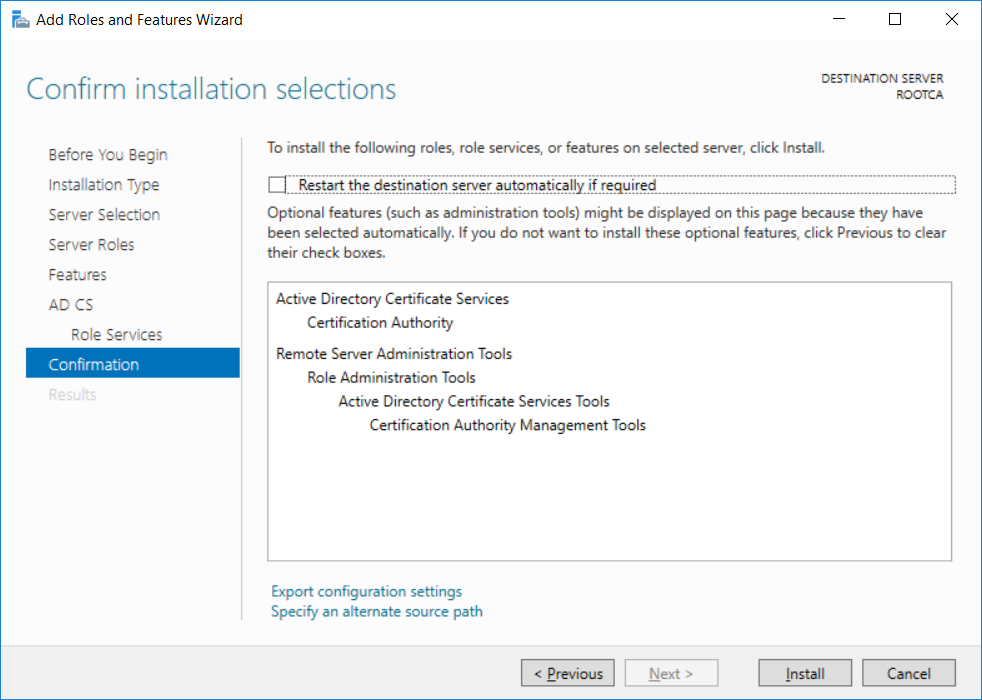 How Can I Configure Pki In A Lab On Windows Server 2016 Part 2
