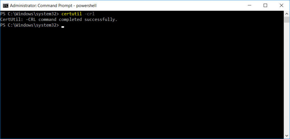 certutil crl command completed successfully.png