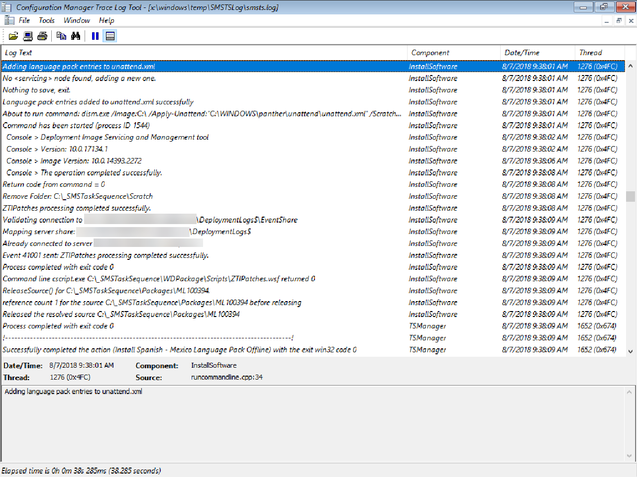 How can I install Windows 10 language packs offline with an