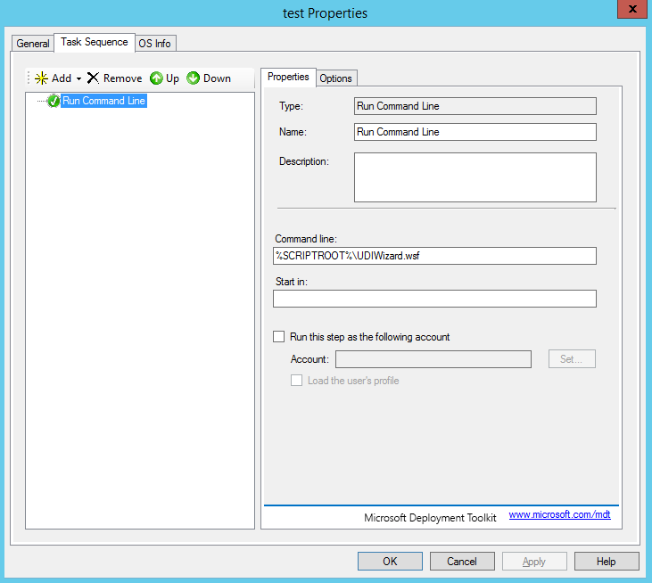 UDIWizard Pages Blank - Microsoft Deployment Toolkit (MDT