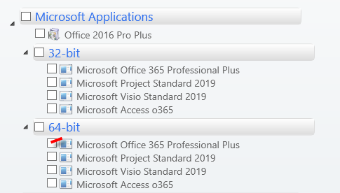 Office 2016 Versions