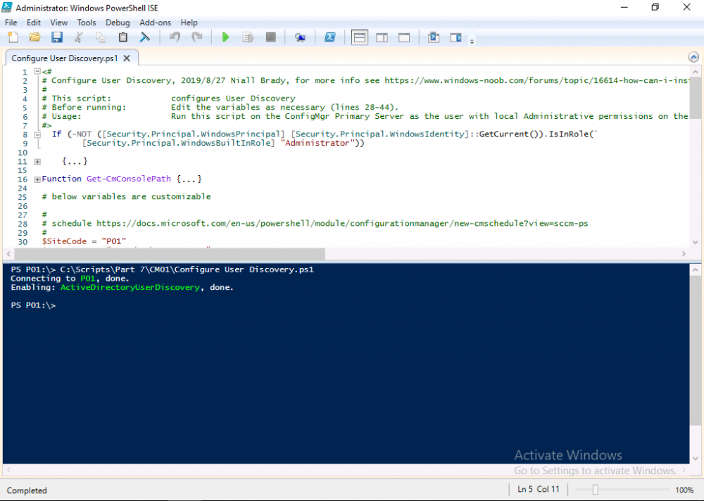 enable active directory user discovery with powershell.png