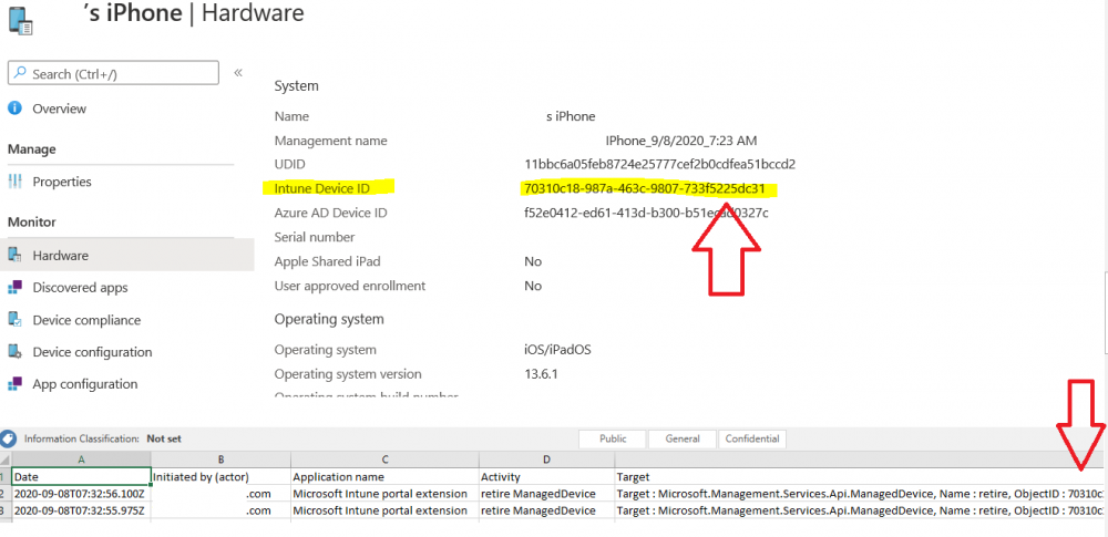 comparing the intune device id with the object id via the xl csv.png