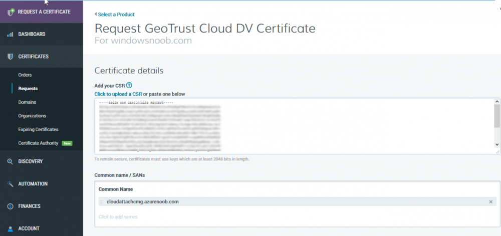 create ssl certificate using csr.png