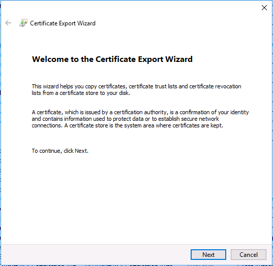 welcome to the certificate export wizard.png